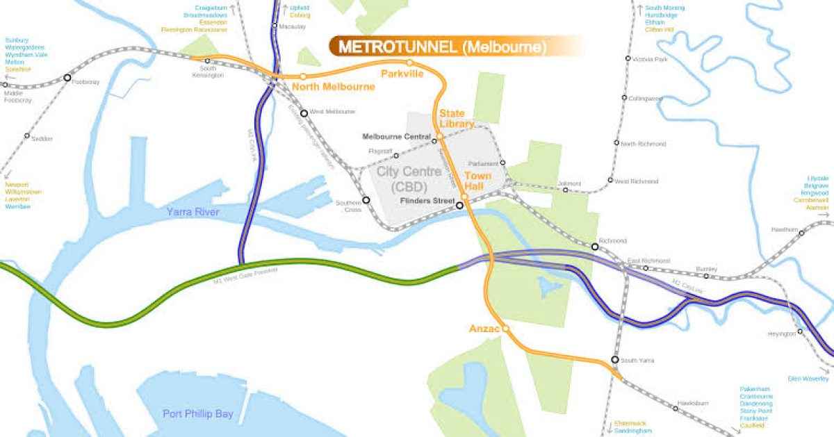 St Kilda Road and the Metro Rail Project