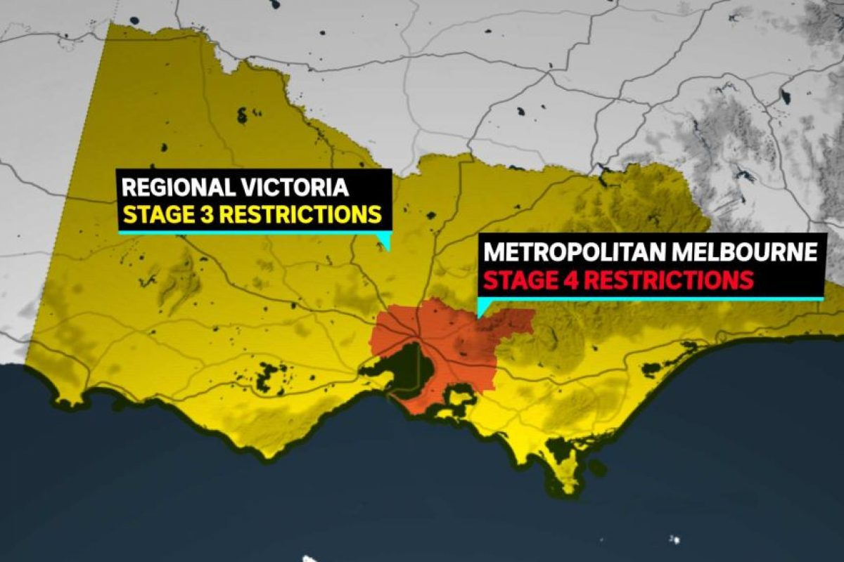 Stage 4 Restrictions – Victoria Update